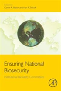 Ensuring National Biosecurity: Institutional Biosafety Committees - cover
