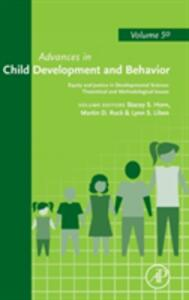 Equity and Justice in Developmental Science: Theoretical and Methodological Issues - cover