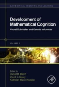 Ebook in inglese Development of Mathematical Cognition -, -