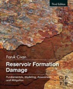 Ebook in inglese Reservoir Formation Damage Civan, Faruk