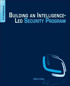 Building an Intelligence-Led Security Program - Allan Liska - cover