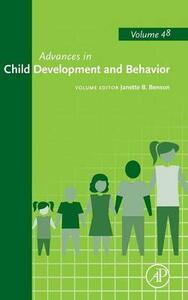 Advances in Child Development and Behavior - J. Benson - cover
