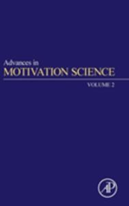 Advances in Motivation Science - cover