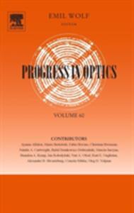 Progress in Optics - cover