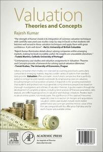 Valuation: Theories and Concepts - Rajesh Kumar - cover