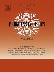Foto Cover di Progress in Optics, Ebook inglese di  edito da Elsevier Science