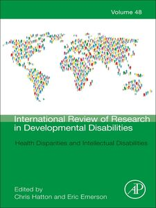 Ebook in inglese Health Disparities and Intellectual Disabilities -, -