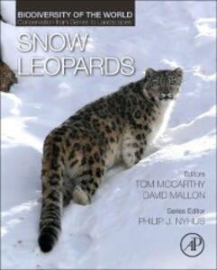 Foto Cover di Snow Leopards, Ebook inglese di  edito da Elsevier Science
