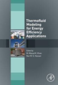 Ebook in inglese Thermofluid Modeling for Energy Efficiency Applications