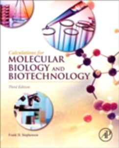 Ebook in inglese Calculations for Molecular Biology and Biotechnology Stephenson, Frank H.