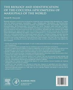 The Biology and Identification of the Coccidia (Apicomplexa) of Marsupials of the World - Donald Duszynski - cover