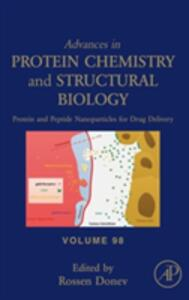 Protein and Peptide Nanoparticles for Drug Delivery - cover