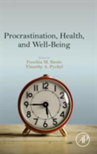 Procrastination, Health, and Well-Being - cover