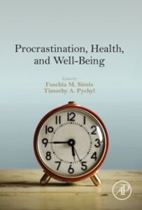 Ebook in inglese Procrastination, Health, and Well-Being