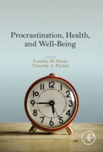 Ebook in inglese Procrastination, Health, and Well-Being -, -