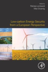 Low-carbon Energy Security from a European Perspective - cover