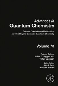 Ebook in inglese Electron Correlation in Molecules - ab initio Beyond Gaussian Quantum Chemistry -, -