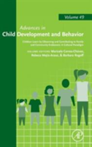 Children Learn by Observing and Contributing to Family and Community Endeavors: A Cultural Paradigm - cover
