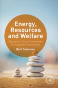 Ebook in inglese Energy, Resources and Welfare Sorensen, Bent