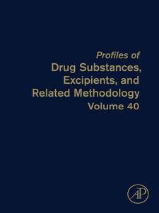Ebook in inglese Profiles of Drug Substances, Excipients, and Related Methodology -, -