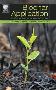 Biochar Application: Essential Soil Microbial Ecology - T. Komang Ralebitso-Senior,Caroline H. Orr - cover