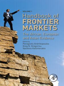 Foto Cover di Handbook of Frontier Markets, Ebook inglese di AA.VV edito da Elsevier Science