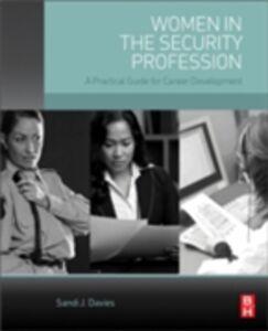 Ebook in inglese Women in the Security Profession Davies, Sandi J