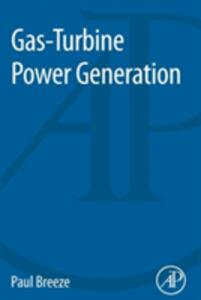 Gas-Turbine Power Generation - Paul Breeze - cover