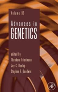 Advances in Genetics - cover
