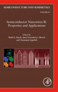 Semiconductor Nanowires II: Properties and Applications - cover