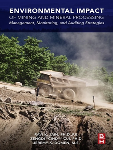 Ebook in inglese Environmental Impact of Mining and Mineral Processing Jain, Ravi