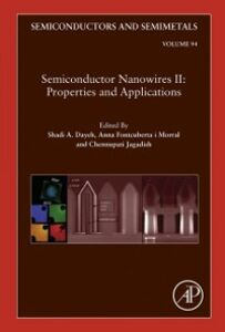 Ebook in inglese Semiconductor Nanowires II: Properties and Applications