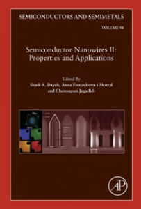 Ebook in inglese Semiconductor Nanowires II: Properties and Applications -, -