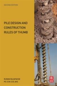 Pile Design and Construction Rules of Thumb - Ruwan Abey Rajapakse - cover