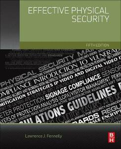 Effective Physical Security - Lawrence J. Fennelly - cover