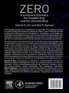 Foto Cover di Zero, Ebook inglese di Ravi P. Agarwal,Syamal K. Sen, edito da Elsevier Science