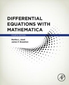 Foto Cover di Differential Equations with Mathematica, Ebook inglese di Martha L. Abell,James P. Braselton, edito da Elsevier Science
