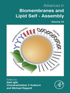Ebook in inglese Advances in Biomembranes and Lipid Self-Assembly, Volume 24