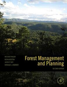 Forest Management and Planning - Peter Bettinger,Kevin Boston,Jacek P. Siry - cover