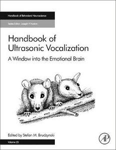Handbook of Ultrasonic Vocalization: A Window into the Emotional Brain - cover