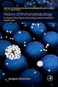 History of Immunotoxicology - Jacques Descotes - cover