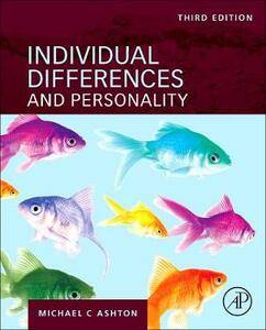 Individual Differences and Personality - Michael C. Ashton - cover