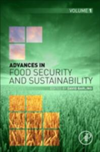 Advances in Food Security and Sustainability - cover