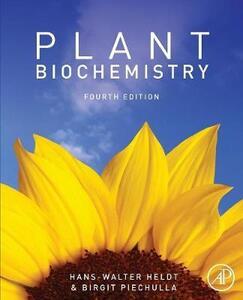 Plant Biochemistry - Hans-Walter Heldt,Birgit Piechulla - cover