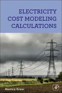Electricity Cost Modeling Calculations - Monica Greer - cover