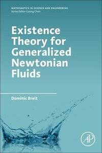 Existence Theory for Generalized Newtonian Fluids - Dominic Breit - cover