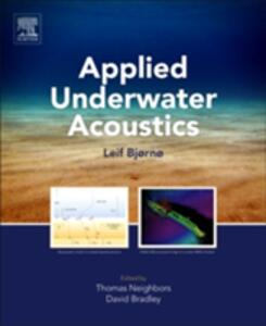 Applied Underwater Acoustics: Leif Bjorno - cover