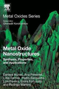 Metal Oxide Nanostructures: Synthesis, Properties and Applications - Elvira F. Fortunato,Luis Pereira,Lidia Santos - cover