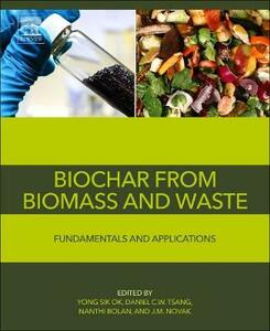 Biochar from Biomass and Waste: Fundamentals and Applications - cover