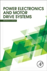 Power Electronics and Motor Drive Systems - Stefanos Manias - cover